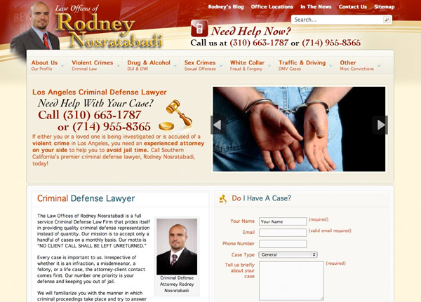 Law Offices of Rodney Nosratabadi